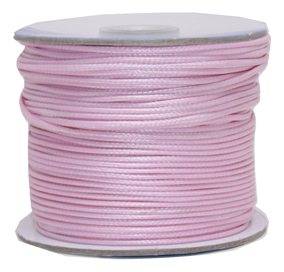 Pink Lemonade - Wax Polyester Surfer Cord - 45 yd rolls
