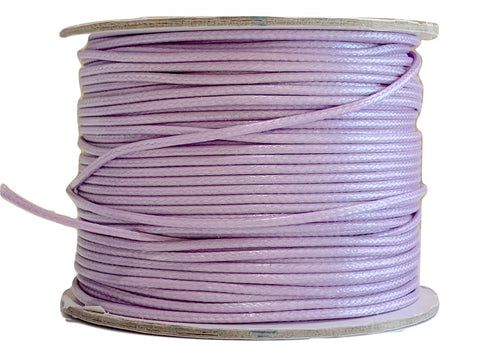 Pale Lavender - Wax Polyester Surfer Cord - 45 yd rolls