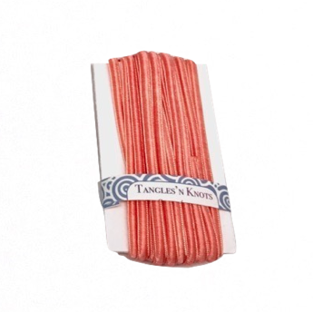 Peach - Flat Chinese Knot Cord