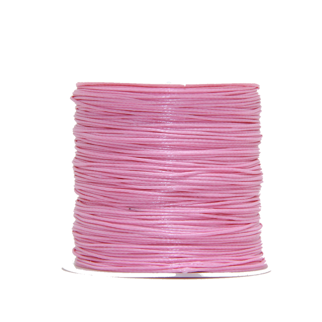 Pink - Wax Polyester Surfer Cord - 45 or 50 yd rolls