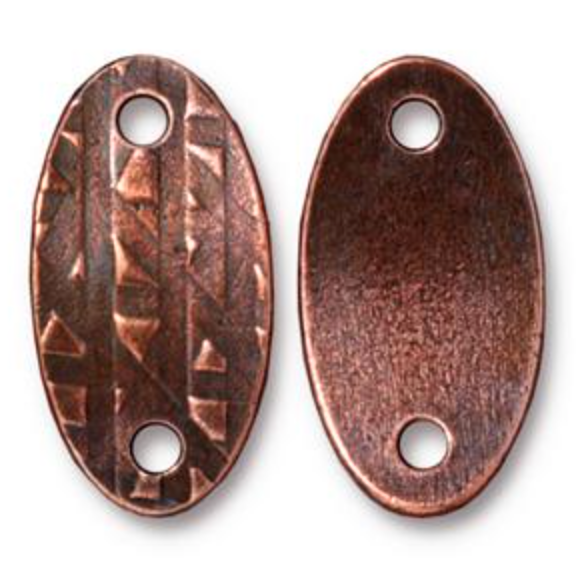 R&R  Oval Link :  Copper:  Tierracast