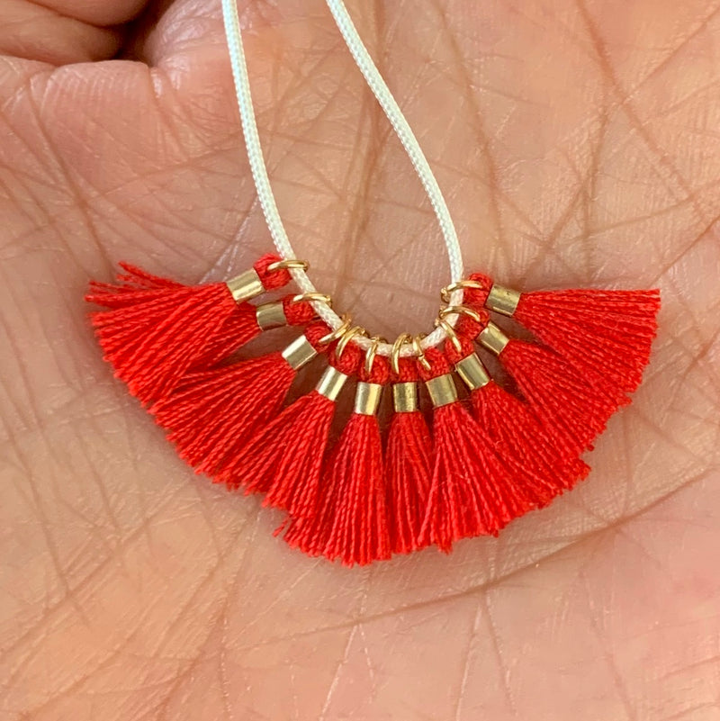 Red - Tiny Tassel