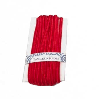 Red - Flat Chinese Knot Cord