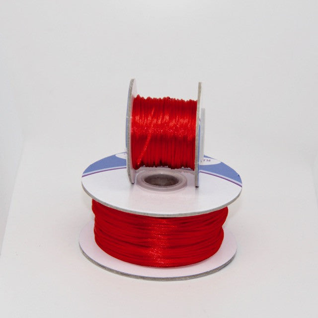 Red - Nylon Satin - 1MM