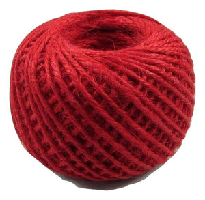 Jute - Cranberry:  1.5MM-2MM (50Ml) (Clearance)