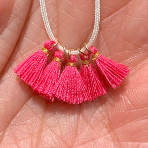 Rosy Rose - Tiny Tassel