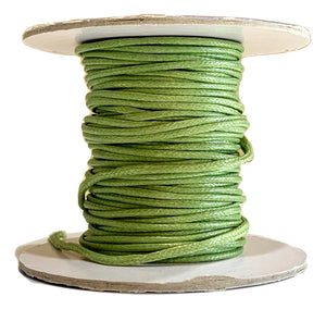Sage - Wax Polyester Surfer Cord - 45 or 50 yd rolls