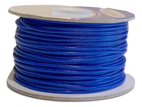 Sapphire - Wax Polyester Surfer Cord - 45 or 50 yd rolls