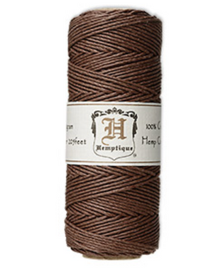 Hemp Cord :  Dark Brown