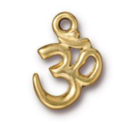 Ohm Charm - Gold - TierraCast