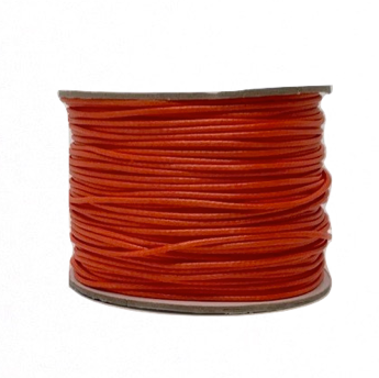 Tangerine - Wax Polyester Surfer Cord - 45 yd rolls