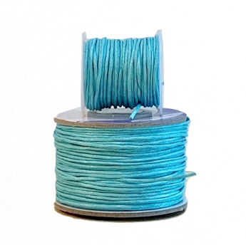 Wax Cotton Cord:  WATER JET - 1MM
