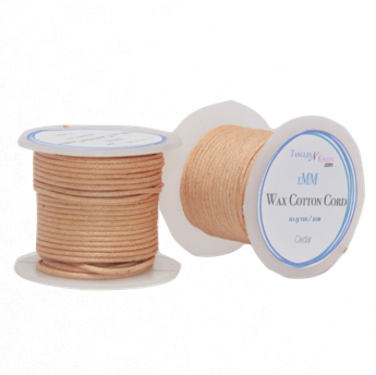 Wax Cotton Cord:  CEDAR:  1MM Only