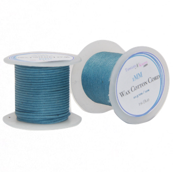 Wax Cotton Cord:  INK BLUE - 10M Spool:    1MM Only