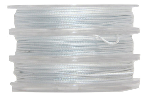 White - Wax Polyester Surfer Cord - 5 or 10 yards