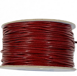 Wine  - Wax Polyester Surfer Cord - 45 or 50 yd rolls