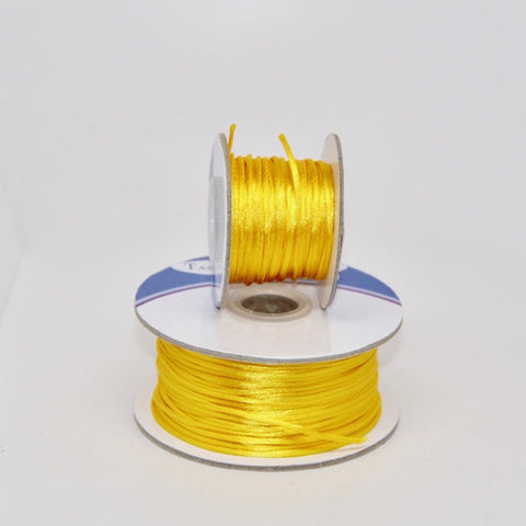 Yellow - Nylon Satin -1 MM