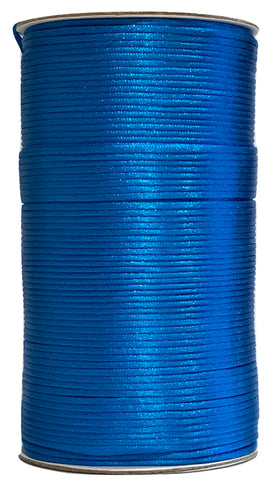 Bright Turquoise - 2MM Rattail - Rolls