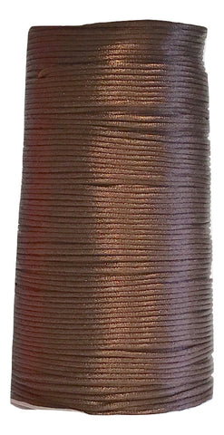 Chocolate - 2MM Rattail - Rolls