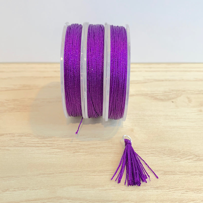 Dark Grape - Tassel Cord