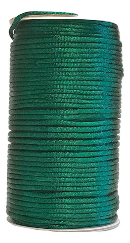 Dark Green - 3MM Rattail - Rolls