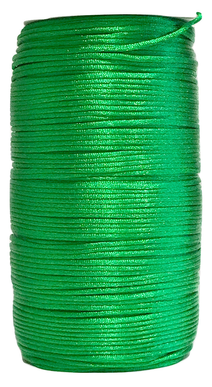 Forest Green - 2MM Rattail - Rolls