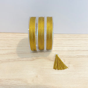 Golden Toffee - Tassel Cord