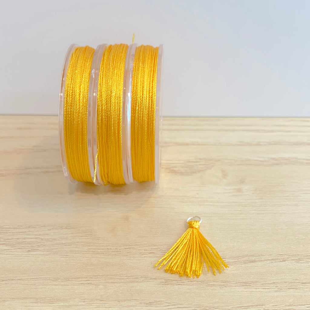 Golden Yellow - Tassel Cord