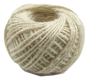 Jute - Ivory:  1.5MM-2MM (50Ml) (Clearance)
