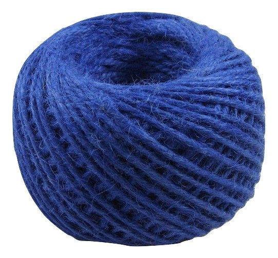 Jute - Midnight Blue:  1.5MM-2MM (50Ml) (Clearance)