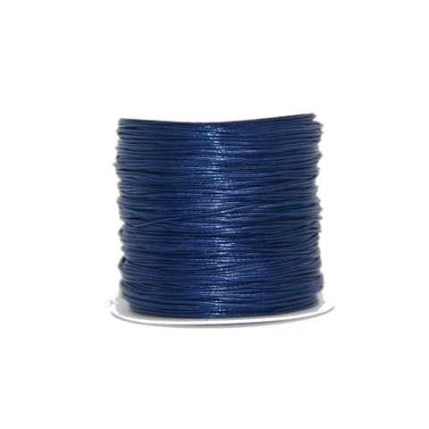Navy - Wax Polyester Surfer Cord - 45 or 50 yd rolls