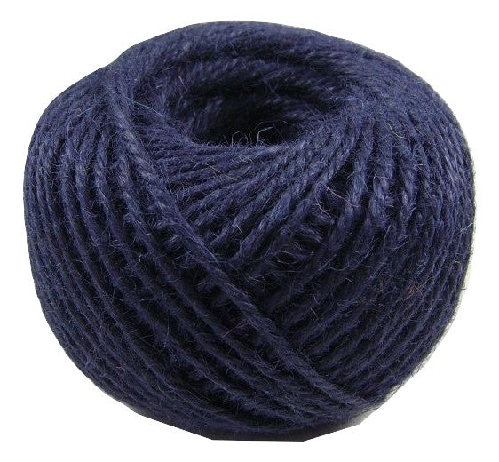 Jute - Navy:  1.5MM-2MM (50Ml)