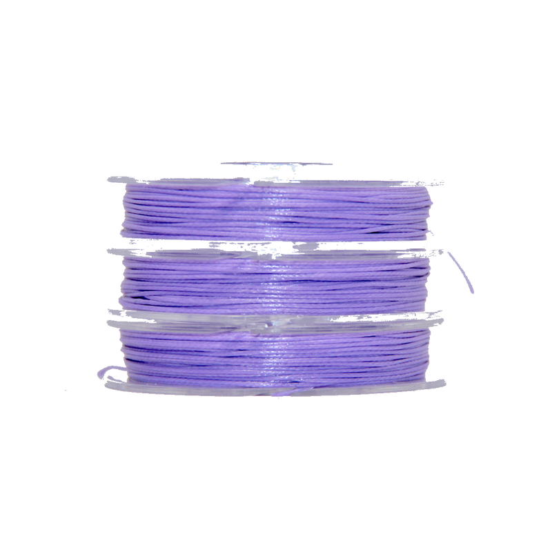 Orchid - Wax Polyester Surfer Cord - 5 or 10 yards