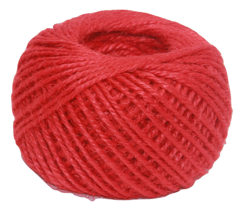 Jute - Red:  1.5MM-2MM (50Ml)