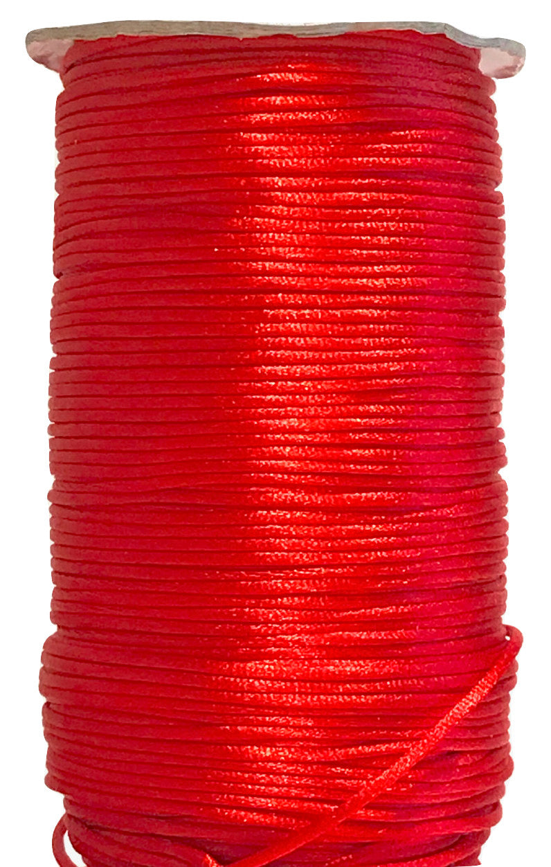 Red - 2MM / 3MM / 5MM Rattail - Rolls