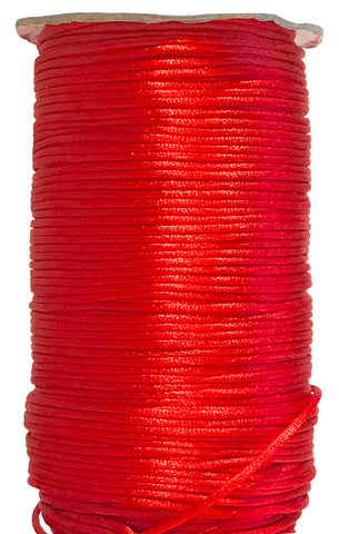 Red - 2MM / 5MM Rattail - Rolls