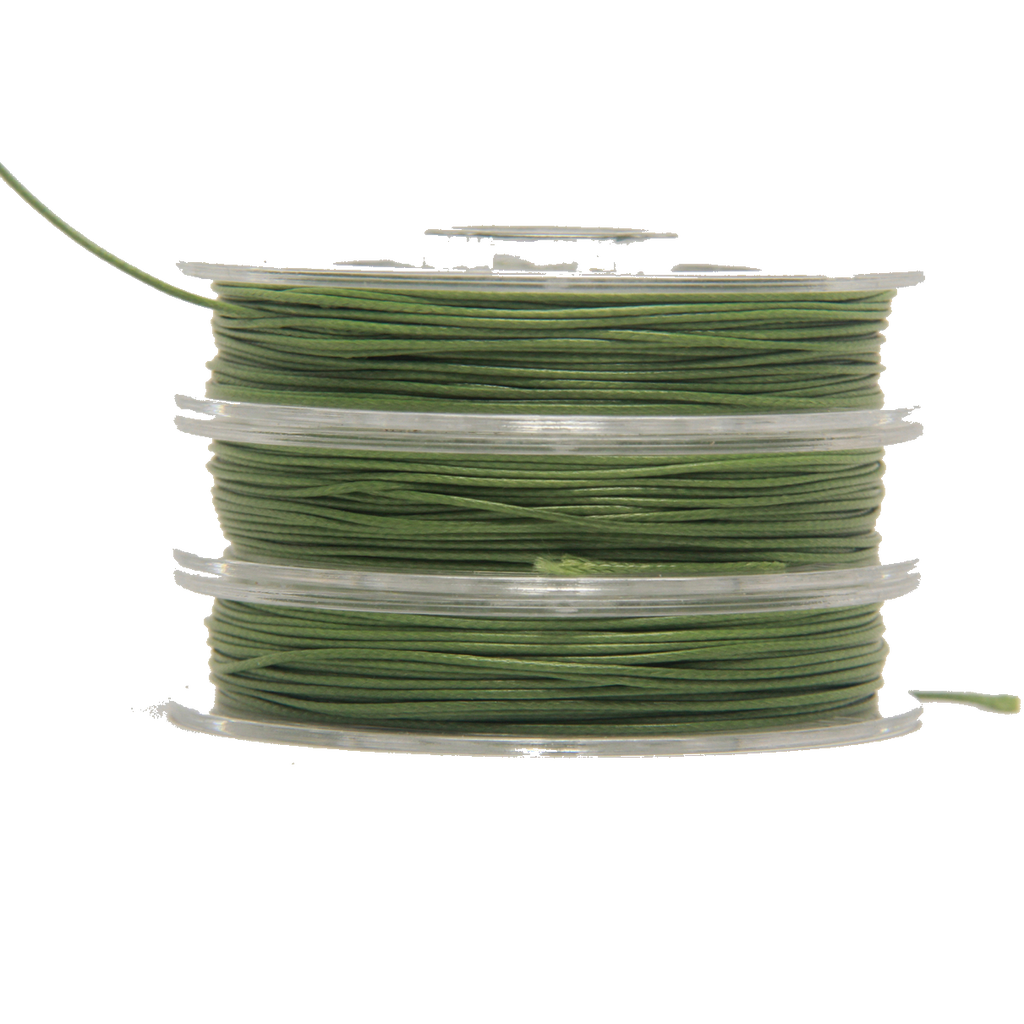 Sage - Wax Polyester Surfer Cord - 5 or 10 yards