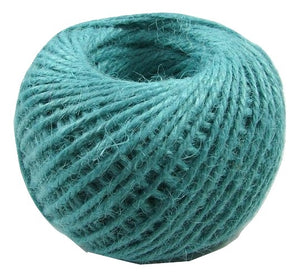 Jute - Teal:  1.5MM-2MM (50Ml)