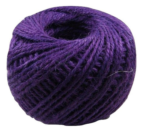 Jute - Midnight Grape:  1.5MM-2MM (50Ml)
