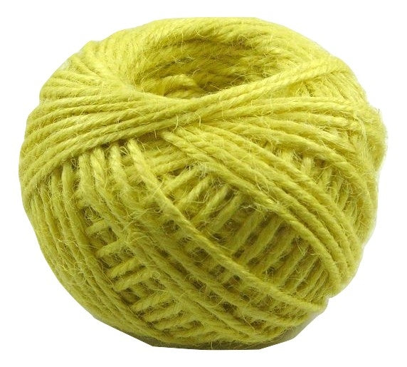 Jute - Yellow:  1.5MM-2MM (50Ml)