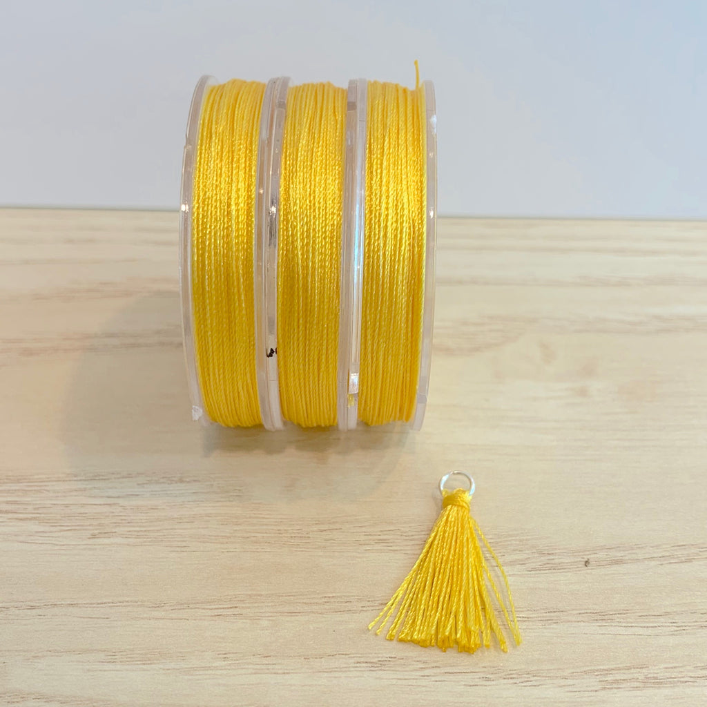 Yellow - Tassel Cord