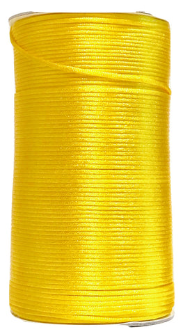 Yellow - 2MM Rattail - Rolls