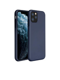 CASE DE SILICON PARA IPHONE 11PRO-AZULMARINO