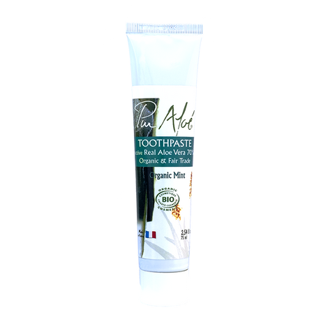 Pur'Aloe Toothpaste (contains 70% of organic aloe vera)