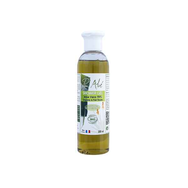 Pur'Aloe Shower Gel (contains 70% of organic aloe vera)