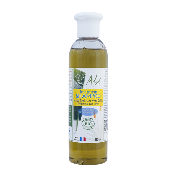 Pur'Aloe Treatment Shampoo (contains 70% of organic aloe vera)