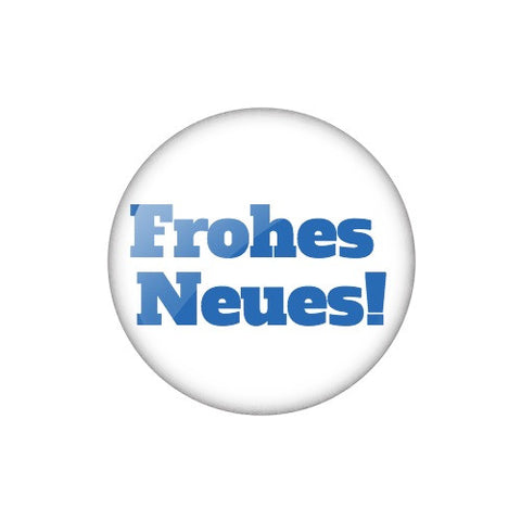 "Smalltalk Button ""Frohes Neues!"""