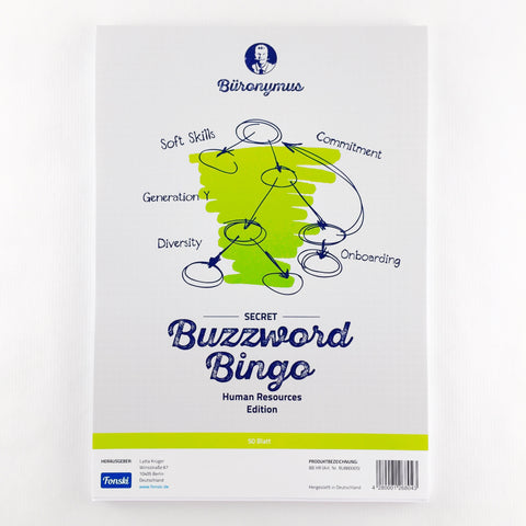 Buzzword-Bingo Human Resources