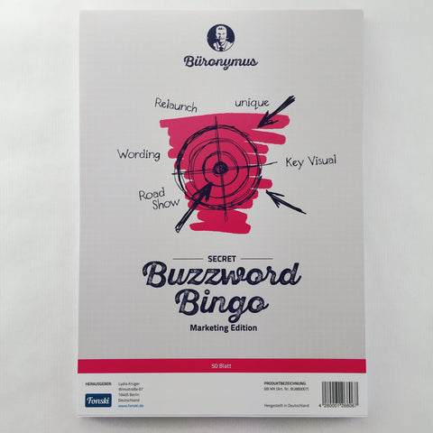Buzzword-Bingo Marketing