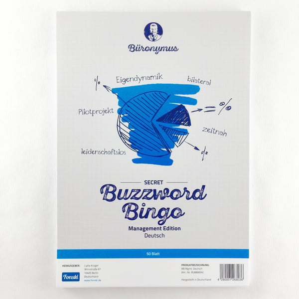 "Buzzword-Bingo ""Management"" (Deutsch)"